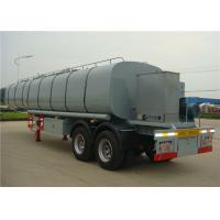 30CBM Bitumen Heating Tank , Asphalt Cheap Tanker Trailer , Asphalt Tank Transport Trailer