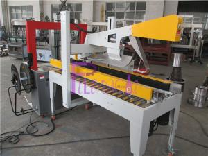 China Industrial Carton Bottle Packaging Machine , Semi Automatic Box Sealing Machine on sale