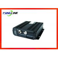 Support Lock Protection Wireless GPS Locating 4 Channel Hybrid Mobile DVR with SIM SD Cards