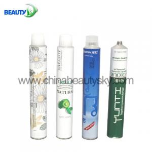 China Aluminum Tubes  for Hair Color Cream  with White plastic open tip 60ml on sale