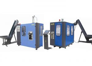 China Semi Automatic Pet Bottle Blowing Machine 60-90pcs/Hr Capacity CM-12 on sale