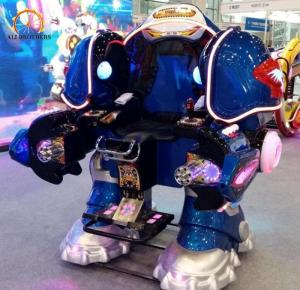 China Electric Carnival Bumper Cars Walking Robot Shape 150 Kg Load Weight on sale