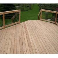 WPC tongue and groove decking