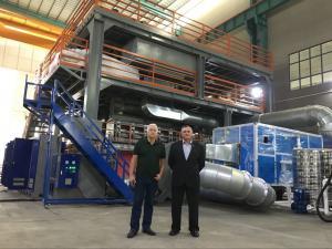 China PP Non Woven Fabric Making Machine, S SS SMS PP Non Woven Fabric Making Machine on sale