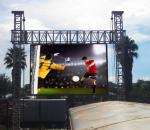Light Weight Portable Outdoor Led Advertising Display Video Wall For Stage Show