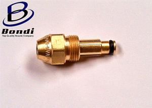 China Brass/304ss Siphon waste oil Burner,Two Fluid oil air atomizing spray nozzle on sale