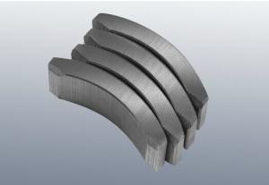 China BLDC motor Ferrite magnet Arc type Magnet Ferrite bonded NdFeB on sale