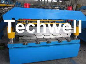 China Widespan IBR Roof Sheeting Profile Roll Forming Machine wholesale