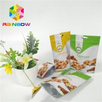 China Foil Stand Up Snack Bag Packaging Zipper Plastic Cashew Nut Pack Custom Printed on sale
