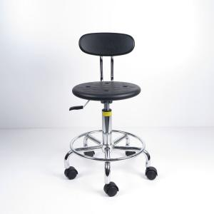 China Adjustable/swivel ESD Anti Static Stool With Small Backrest To Save Space on sale