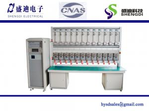 China 12 position ANSI 4 IEC single phase test bench accuracy class 0.05% ANSI SOCKET Meter 0~100A current on sale