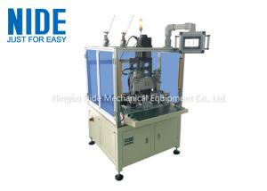 BLDC Motor Inslot Needle Winding Machine with Two Working