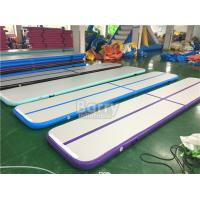 Gym Sports Game Inflatable Air Track Gymnastics Mat For Home CE EN14960