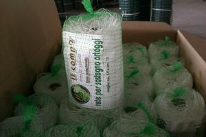 China Green Plant Support Net / Agriculture Net Hdpe With Uv , 15x17cm Mesh on sale
