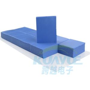 China Smart Phone Silicone Heat Transfer Pad / Electrically Conductive Thermal Pad on sale
