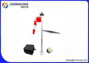 China Stainless Steel 304  Wind Cone Airport Landing Indicator With  Mono Crystalline Silicon Module on sale