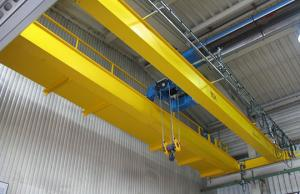 LH Model Double Girder Travelling Overhead Crane EOT Crane with