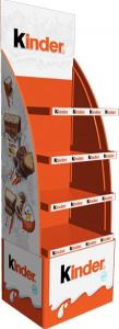 China Supermarket Merchandise Metal Rack Shelves Brochure Display Stands on sale