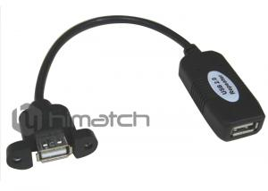 China Himatch High Speed USB 2.0 Cable / Panel Mount USB Extension Cable OEM Available on sale