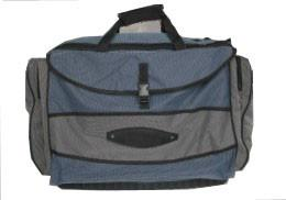 China OEM 450D PVC coated Fishing Tackle Bag with reversed zipper for the wild fishing on sale