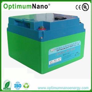 China Batterie profonde de cycle de lithium de chariot à golf, batteries de machine-outil de remplacementde BMS12V30Ah on sale