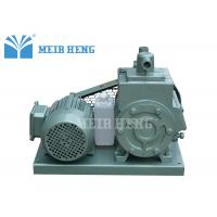 Industrial Rotary Vane Vacuum Pump , Air Cooling Vacuum Pump For Chemistry Lab
