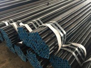 China ASTM A106GR.B CS seamless pipes with 3LPE coating on sale
