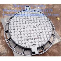 China ductile iron manhole covers and frame on sale