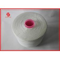 Raw White High Tenacity Polyester Weaving Yarn Eco - Friendly 20S/1 20S/2 Counts