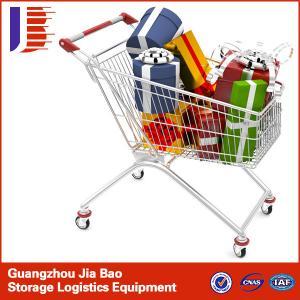 China 180L European metal supermarket Shopping trolley on sale