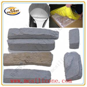 China Artificial/Cement Stone Mold Making Silicone on sale