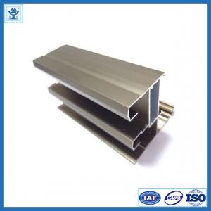 China Champange Anodized Aluminum Profile for Door on sale