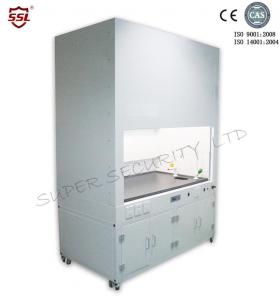 China Cold-roll Steel Chemical Fume Hood IP 20 Class I Lab Fume Hood with Built-in Centrifugal Fan on sale