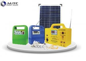 China USB 5V / 1A Household Solar Lighting System SMF Lead Acid Battery 12V / 20Ah on sale