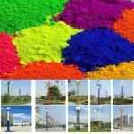 Sintetizado por las capas de epoxy del polvo del color para las linternas arriba brillantes