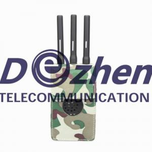 China Portable Powerful All GPS signals Jammer on sale