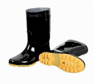 China black womens pvc rain boots,pvc boots,pvc injection boots,36-42#,farming working boots,wellingtons,wellie shoes on sale