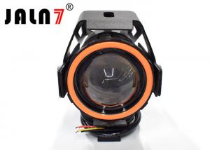 China 15W Cree U7 Motorcycle Led Headlight Conversion With Angel Eyes Energy Saving on sale