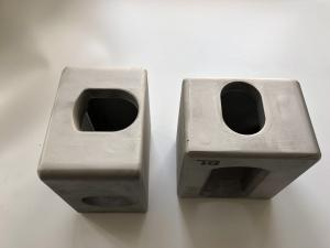 China ISO die casting  Aluminum    corner fittings for ISO  Aluminum container on sale