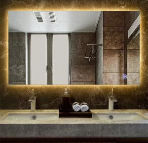 Illuminated Square Led Bathroom Mirror