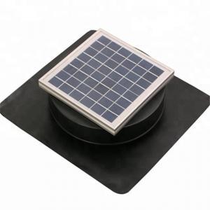 China 6W8IN Aluminium alloyed Solar roof ventilator Solar Exhaust Fan on sale
