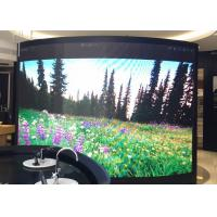 High Resolution Indoor Curved Led Display P3 Front Service Light Weight
