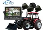 7 inch 4CH HDD Monitor DVR Video Recorder 720P for Agricultural vehicle