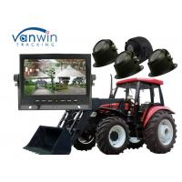 China 7 inch 4CH HDD Monitor DVR Video Recorder 720P for Agricultural vehicle on sale