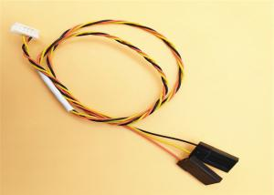China 30 Awg Twisted Y Wire Harness Assembly 1.5mm 6 Pin Jst Zh To 3p Dupont 2.54mm Pitch Plug on sale