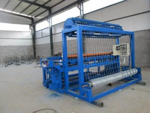 China Fixed Knot Cattle Fence Mesh Making Machine , Automatic Field Fence Machine on sale