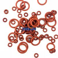 China Red Green Brown NBR FKM Silicone JIS AS568 Rubber O Rings on sale