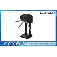 Semi Automatic Mechanical Tripod Turnstile Barrier Gate For Supermarket