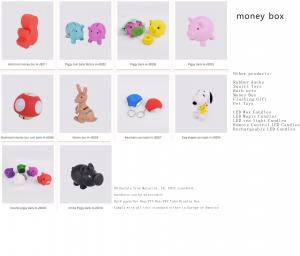 China Phthalate free Material, CE, EN71 standard, hardness can be adjustable,high quality coin bank on sale