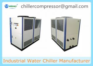 China 20HP Seawater Cooling Air Cooled Water Chiller Unit Best Price on sale